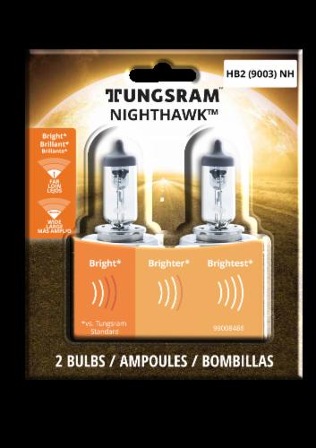 Tungsram NightHawk 9003NH/BP2 Auto Bulb Perspective: front