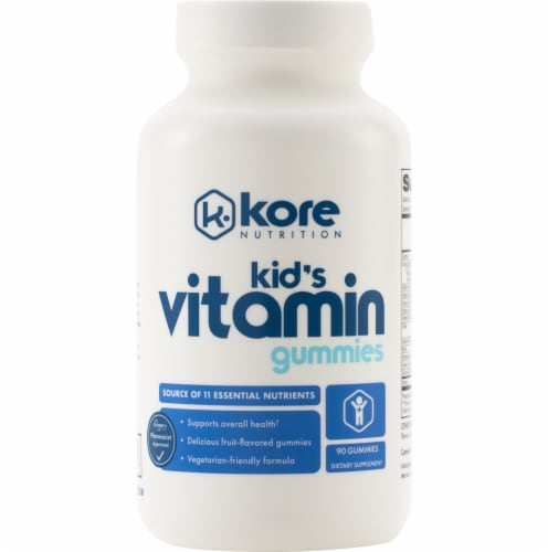 Kore Nutrition Kid's Multi Vitamin Gummies Perspective: front