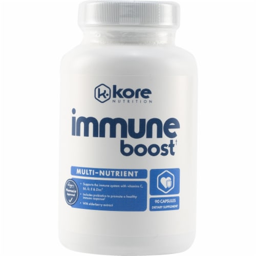 Kore Multi-Nutrient Immune Boost Dietary Supplement Capsules Perspective: front