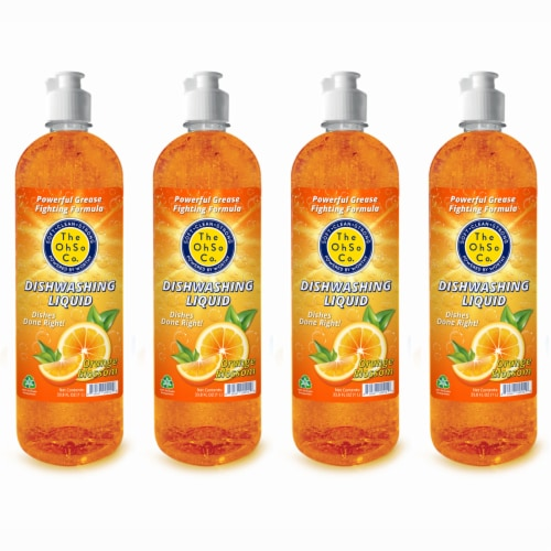 The Ohso Co. 33.8oz Dish Soap - Orange Blossom Perspective: front