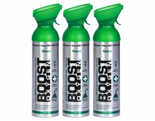 Boost Oxygen 10L 3 pack Perspective: front