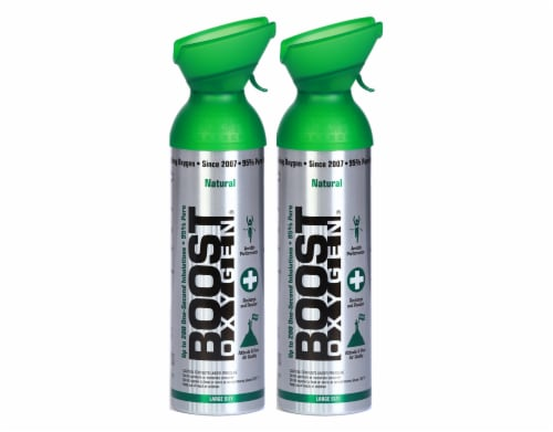 Boost Oxygen 10 L 2 pack Perspective: front