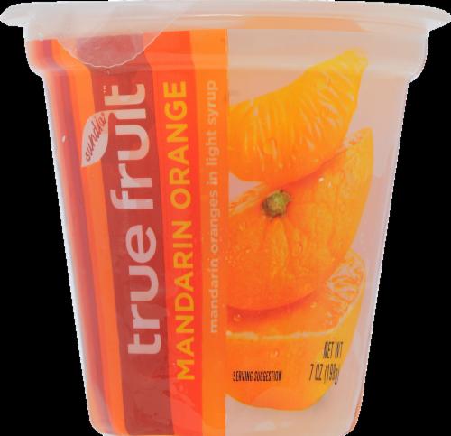 Sundia True Fruit Mandarin Orange Cup Perspective: front
