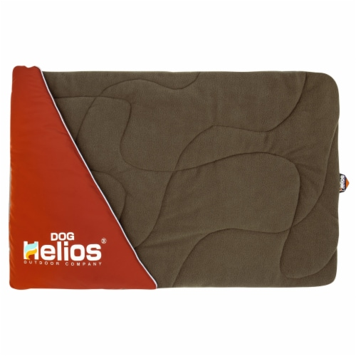 Dog Helios  'Expedition' Sporty Travel Camping Pillow Dog Bed - One Size / Red Perspective: front