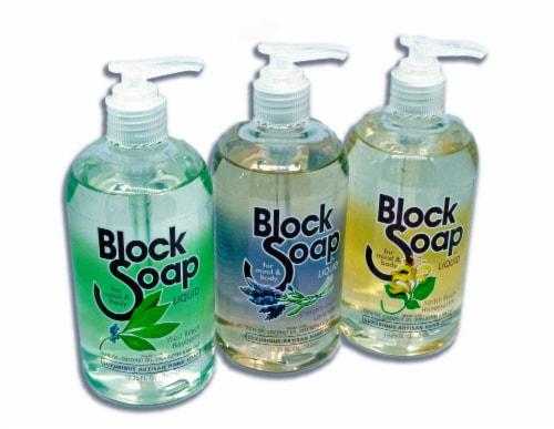 Block Island Block Soap Assorted Fragrance Liquid Hand Soap 3 Count Perspective: front