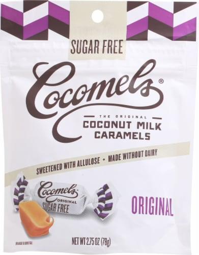 Cocomels Gluten Free Sugar Free Original Coconut Milk Caramels Perspective: front