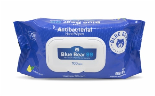 Antibacterial Wipes - (24) 100 Sheet Packs Perspective: front