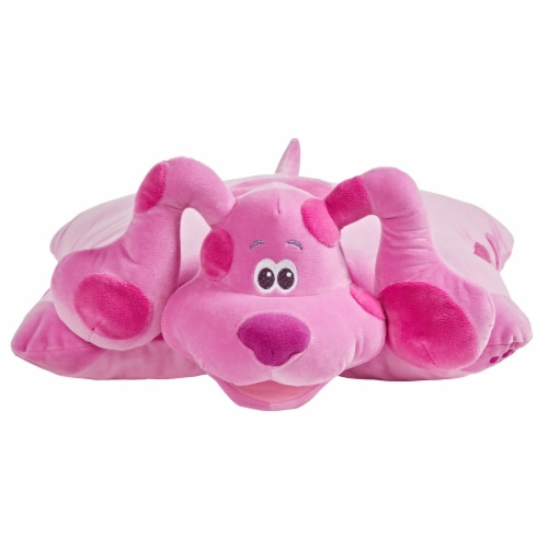 Pillow Pets Nickelodeon Blue's Clues Magenta Plush Toy Perspective: front