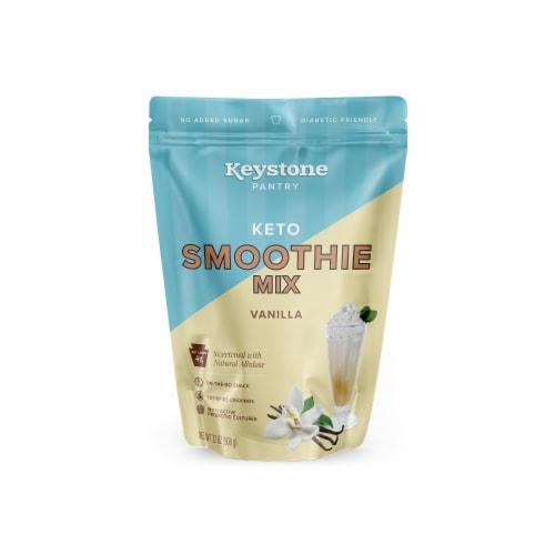 Keystone Pantry Vanilla keto smoothie mix 2 pound pouch certified kosher dairy (kof-k) Perspective: front