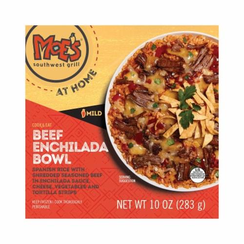 Moe's Beef Enchilada Bowl Frozen Meal Perspective: front