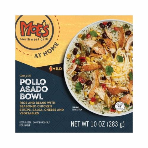 Moe's Pollo Asado Bowl Frozen Meal Perspective: front