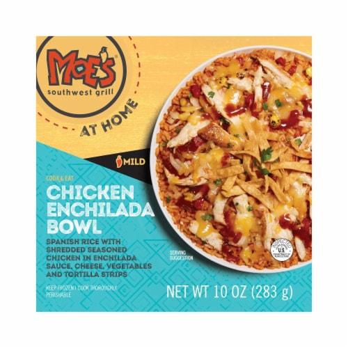 Moe's Chicken Enchilada Bowl Frozen Meal Perspective: front