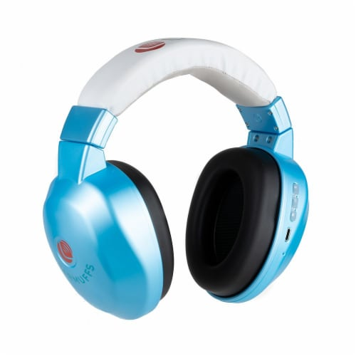 HearMuffs Wireless Infant - Blue Perspective: front