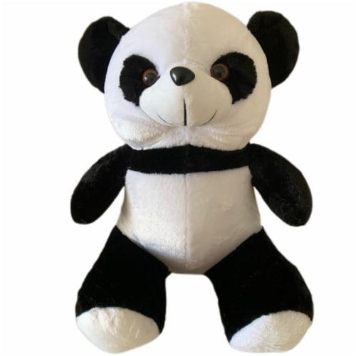 Panda Bear Stuffed Animal   Swiss Jasmine® Plushies   Bear Pillow 20 Inches Perspective: front