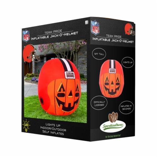 Cleveland Browns Team Pride Inflatable Jack-O'-Helmet Perspective: front