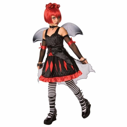 Costumes For All Occasions Lf3016Clg Batty Princess Child Large Perspective: front