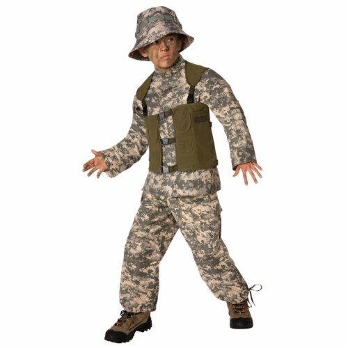 Costumes For All Occasions LF3502CSM Delta Force Child 4-6 Perspective: front