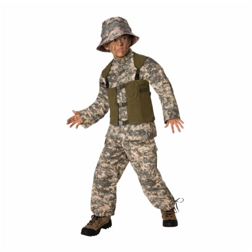 Costumes For All Occasions LF3502CMD Delta Force Child 8-10 Perspective: front