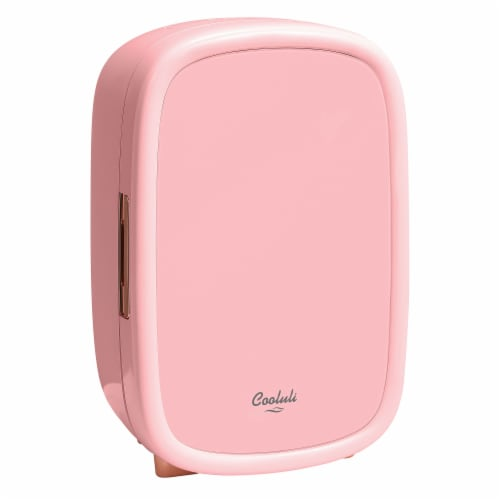 Cooluli Beauty 12 Liter Portable Compact Mini Fridge - Pink Perspective: front