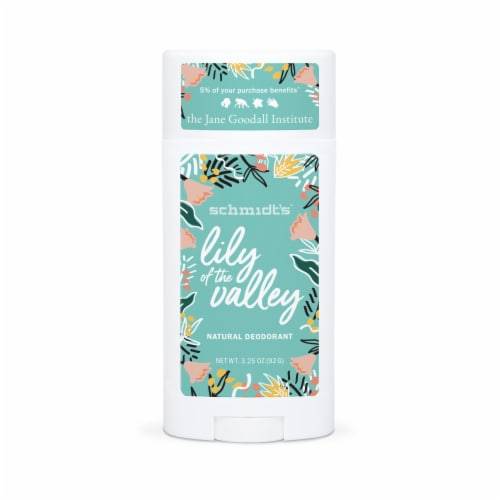 Schmidt's Lily of the Valley Aluminum Free Deodorant Perspective: front