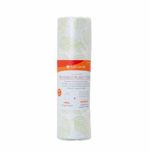 Full Circle Touch Sheet Reusable Plant Towels Perspective: front