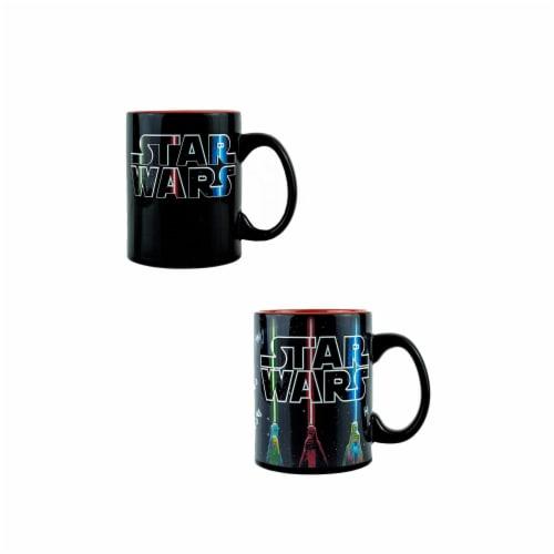 Star Wars Lightsaber Mug | Star Wars Heat Changing Mug | Holds 20 Ounces Perspective: front