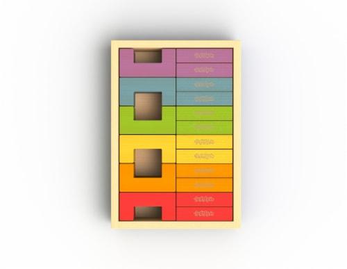 U Build It Plus Set/24 Blocks Perspective: front