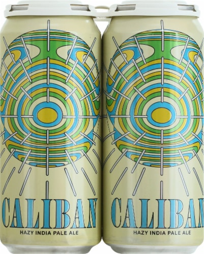 Modern Times Caliban Hazy India Pale Ale Perspective: front