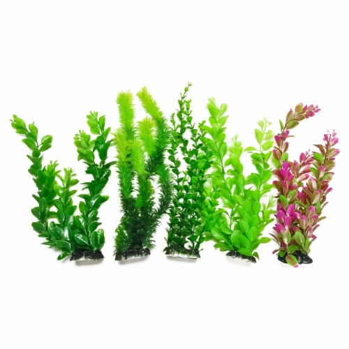 Aquatop Aquatic Supplies 003668 13 in. Plant Power Pack, Green - Pack of 5 Perspective: front