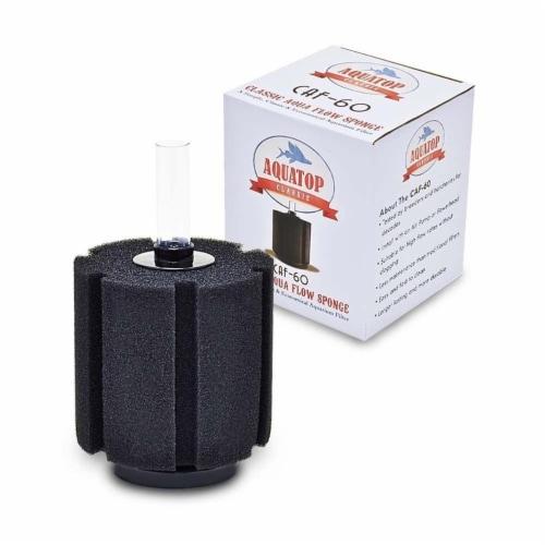 Aquatop Aquatic Supplies 003453 60 gal Classic Aqua Flow Sponge Filter Perspective: front
