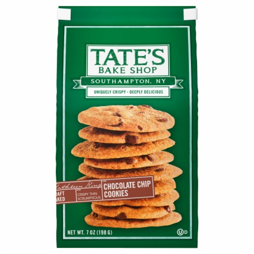 Tate's Bake Shop Chocolate Chip Cookies Perspective: front