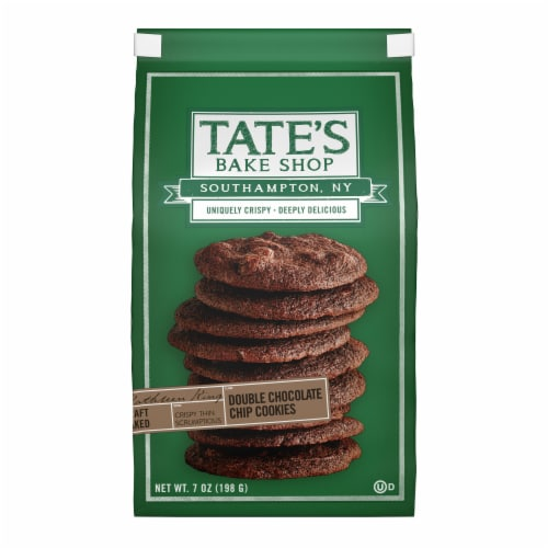 Tate's Bake Shop Double Chocolate Chip Cookies Perspective: front