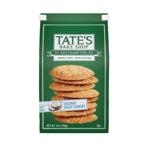 Tate's Bake Shop Coconut Crisp Cookies Perspective: front