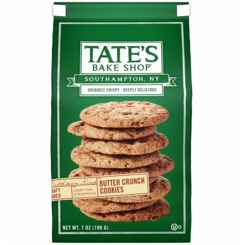 Tate's Bake Shop Butter Crunch Cookies Perspective: front
