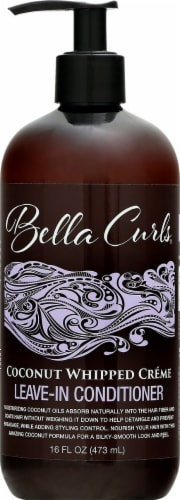 Bella Curls Coconut Whipped Creme Leave-In Conditioner Perspective: front