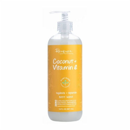 Repure Coconut & Vitamin E Body Wash Perspective: front