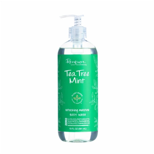 Renpure Tea Tree Mint Body Wash Perspective: front