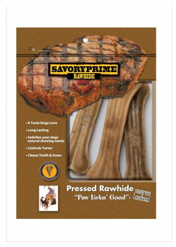 Savory Prime Natural Pressed Bone Perspective: front