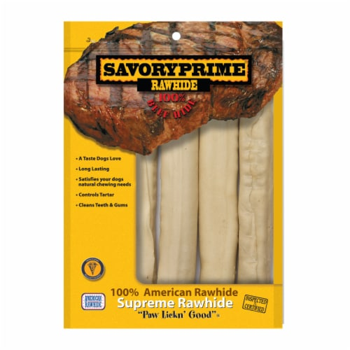 Savory Prime 10-Inch White Retreiver Rolls Perspective: front