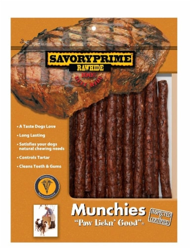 """Savory Prime Beef Prime 5"""" Munchie Sticks Perspective: front"""