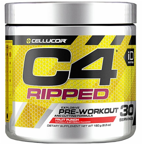 Cellucor  C4® Ripped Pre-Workout   Fruit Punch Perspective: front