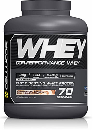 Cellucor  Cor-Performance® Whey   Cinnamon Swirl Perspective: front
