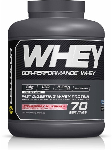 Cellucor  Cor-Performance™ Whey   Strawberry Milkshake Perspective: front