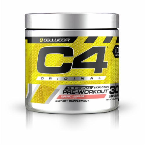 Cellucor C4® Cherry Limeade Pre-Workout Dietary Supplement Perspective: front