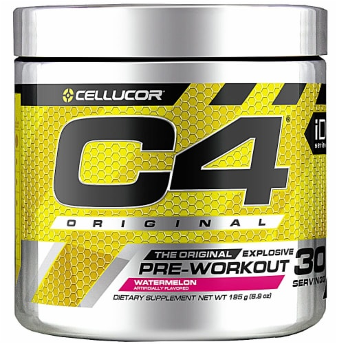 Cellucor  C4® Pre-Workout Explosive Energy   Watermelon Dietary Supplement Perspective: front