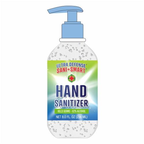 Sani Smart Ultra Defense Hand Sanitizer Perspective: front