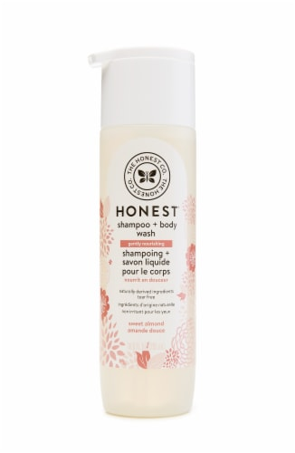 The Honest Co. Sweet Almond Shampoo & Body Wash Perspective: front