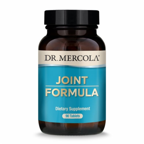 Mercola Joint Formula Supplement Tablets Perspective: front