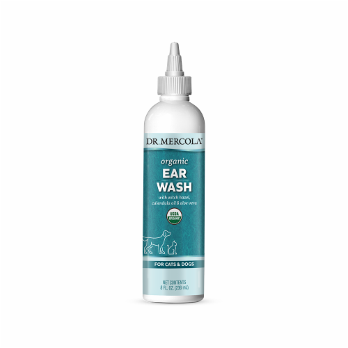 Mercola Organic Cats and Dogs Ear Wash Perspective: front