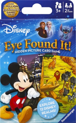 Ravensburger Disney™ Eye Found It!® Card Game Perspective: front